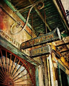 New Orleans ~ Preservation Hall