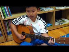 """9살 아들의 """"노바디"""" 기타반주..."""
