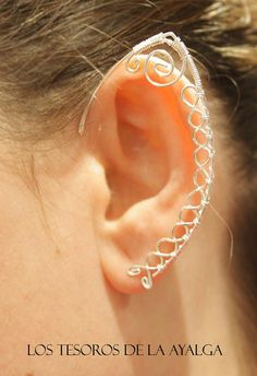 elven ear ear cuff elvish earring elf ear by Ayalga on Etsy