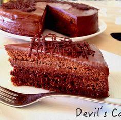 Chocolate, Relleno, Devil, Cake, Desserts, Food, Sour Cream, Vanilla, Tortilla Pie
