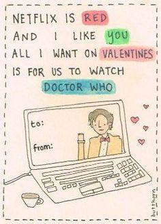 #DoctorWho #ValentinesDay Card!