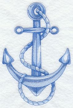 Designs at Embroidery Library! -Embroidery Designs at Embroidery Library! Anchor Sketch, Cross Stitch Embroidery, Hand Embroidery, Canvas Messenger Bag, Vintage Canvas, Machine Embroidery Patterns, Sketch Design, Quilts, Crochet