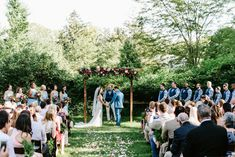 Jessica and Kyle knew they wanted to get married at the picturesque, historic property at the Crossed Keys Estate, and it's owned by Jessica parents.