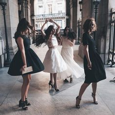 "friendship quotes • fun • girls • dresses • elegant • friendship • gorgeous • love • dance • dancing — breathtakingposts: ""dancing is more fun..."