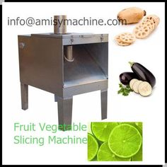 Fruit Vegetable Slicing Machine Fruit and vegetable slicing machine is currently the most advanced machine in China specialized for slicing fruits and vegetables. The slicer machine has wide applications. It can cut potato, cucumber, apple and other fruit and vegetables into round or diagonal slice. More details: http://vegetable-machine.com/fruit-machine/fruit-vegetable-slicing-machine.html Email: info@amisymachine.com