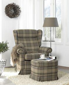 cozy chair. ørelappstol