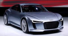 Audi e-tron Detroit Concept: All New Electric Sports Coupe, Smaller than the TT