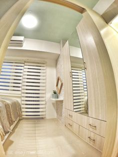 Want to get the cozy minimal Scandinavian style at home? Condo Interior Design, Condo Design, House Design, Studio Design, Interior Ideas, Small Condo Decorating, Condominium Interior, Studio Condo, Condo Living