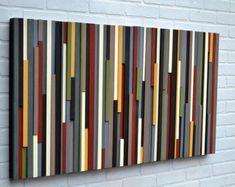 Wood wall art- Black and white art-wood wall sculpture- art-reclaimed wood art-gradient wood art- hospitality art-modern wood art Art Sculpture, Modern Sculpture, Wall Sculptures, Modern Wall Art, Wood Wall Art, Large Wall Art, Wooden Art, Art Rustique, Grand Art Mural