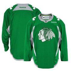 Chicago Blackhawks St. Patricks Day Practice Jersey from  99.95 Boston  Bruins cf7707416
