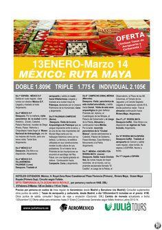 MEXICO: Ruta Maya 13Enero-Marzo Aeromexico 1.809€ Tasas Incluidas ultimo minuto - http://zocotours.com/mexico-ruta-maya-13enero-marzo-aeromexico-1-809e-tasas-incluidas-ultimo-minuto/