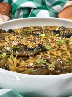 Κριθαρότο με μανιτάρια - www.olivemagazine.gr Types Of Food, Beef, Recipes, Meat, Recipies, Ripped Recipes, Cooking Recipes, Steak