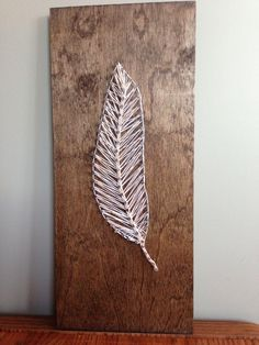 Make,Feather string art