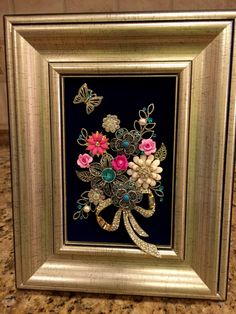 Small 4x6 jewelry floral By Beth Turchi 2015