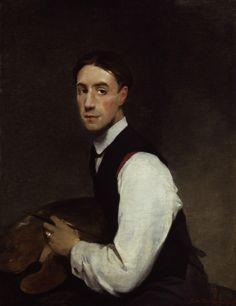 Glyn Philpot (British 1884–1937) [Portraiture] Self-portrait, 1908. National Portrait Gallery, London.