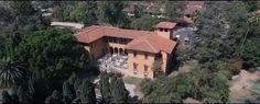 The bird's eye view of the Villa del sol d'Oro by Santa Anita Gardens Catering Birds Eye View, Catering, Villa, Santa, Cabin, House Styles, Gardens, Home Decor, Decoration Home