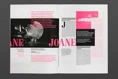 Best Print Festivais Gil Vicente 2012 images on Designspiration Design Editorial, Editorial Layout, Jessica Hische, Typography Layout, Graphic Design Typography, Graphic Design Layouts, Graphic Design Inspiration, Design Ideas, Behance