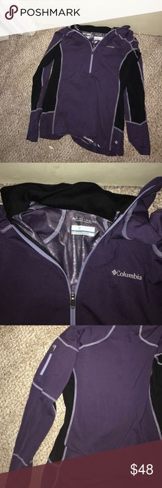 Columbia pull over jacket Columbia Omni-heat thermal comfort pull over jacket. Size large. Rarely worn, in great condition Columbia Jackets & Coats