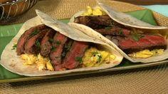 Michael Symon's Steak and Scrambled Egg Tacos