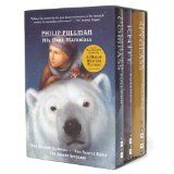 His Dark Materials (The Golden Compass, The Subtle Knife, and The Amber Spyglass) by Philip Pullman