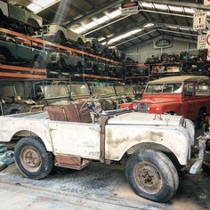 Land Rover Serie 1, Land Rover 88, Land Rover Defender, Garden Log Cabins, Learning To Drive, Rusty Cars, Camping Style, Ford Bronco, Barn Finds