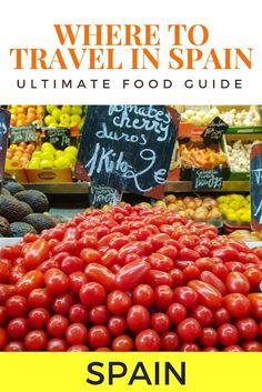 Spain Food Guide - Spanish Food Guide for Culinary Travelers Malaga Spain, Sevilla Spain, Spain Madrid, Spain Travel Guide, Spanish Food, Spanish Recipes, European Travel, Travel Europe, Best Places To Eat