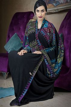 Hijab Fashion Selection of over 100 looks in trendy and chic Abaya Hijab Fashion 2017, Arab Fashion, Islamic Fashion, Muslim Fashion, Modest Fashion, Unique Fashion, African Fashion, Abaya Designs, Abaya Mode