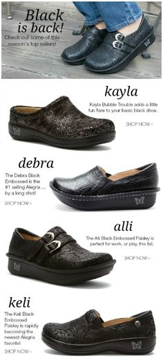 Check out some of this season's top sellers! | Alegria Shoe Shop #AlegriaShoes