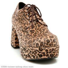 65b4ec58140 Leopard Print Pimp Adult Shoes