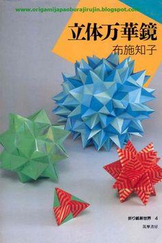 Tomoko fuse origami shinsekai 4, rittai mangekyo (new world 4) solid figure kaleidoscope