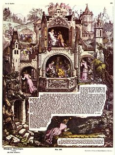 """Manfred Feith-Umbehr, """"Dornröschen oder Hundert Jahre Einsamkeit"""" (Sleeping Beauty and the Hundred Years of Solitude)"""