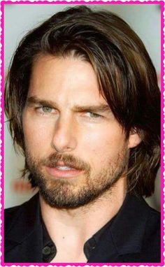 tom cruise - love reminiscing the times, staring at his lips, looks & locks made me escape reality for hours at a time! it`s so different at playing the film Mens Straight Hair, Straight Hairstyles, Katie Holmes, Actrices Hollywood, Top Gun, Hollywood Actor, Nicole Kidman, Film, Movie Stars