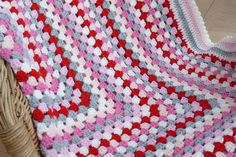 Studio 92 Designs: Granny Square deken