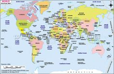 30 best world map images on pinterest worldmap destinations and clickable political map of the world locating all countries of the world with their political boundaries gumiabroncs Choice Image