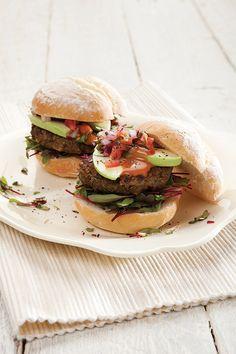Lentil Burgers for Meat-free Mondays!