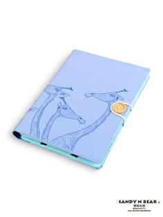 Giraffe - Unique artistic handmade tablet case for Kindle Paperwhite Voyage Fire HD / Kobo Mini Touch Arc Aura Glo