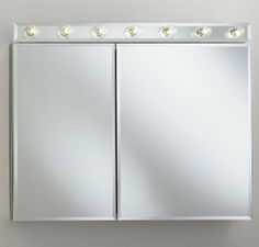 Robern CDC3526FS Medicine Cabinet by Robern. $474.40. 3 way adjustable concealed hinge system. Rust free aluminum construction. Patented concealed surface mounting system. Recess or surface mount. Mirrored doors and interior. Robern CD Series Cabinet  Shown with CDL35TS light kit. (Sold Seperately)