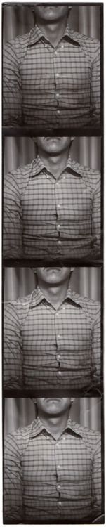 """Machines"" post about photobooth strips by Joel Rotenberg"