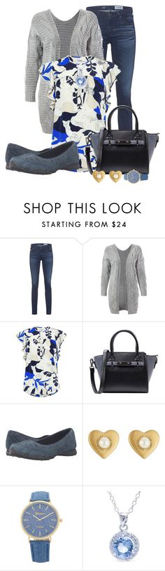 """""""Casual Jeans Outfit"""" by mozeemo ❤ liked on Polyvore featuring AG Adriano Goldschmied, Sans Souci, 10 Crosby Derek Lam, Skechers, Marc Jacobs and Belk Silverworks"""
