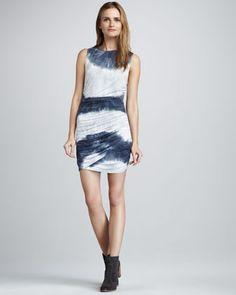 Camden Ombre-Stripe Dress at CUSP.