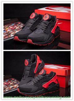 info for b420f 545f7 700878-006 Preto   Vermelho Nike Air Huarache