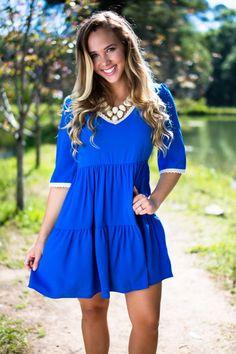 2c65e887e99e Trendy Online Boutiques & Women's Clothing | Lotus Boutique. Trendy Online BoutiquesRoyal  Blue DressesRoyal BabiesBabydoll DressBoutique ...
