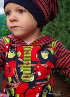 http://spunkynelda.blogspot.de lillestoff enemenemeins fabric eichhörnchen squirrel kidsfashion sewing nähen