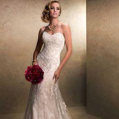 Vestido de Noiva Longo Modelo Tomara que Caia