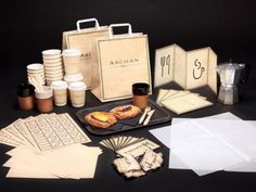 Aschen Deli Restaurant Branding | Restaurant branding, marketing and other notes on various design topics