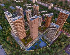 """Check out new work on my @Behance portfolio: """"Visualization of a residential complex in Moscow"""" http://be.net/gallery/52683083/Visualization-of-a-residential-complex-in-Moscow"""