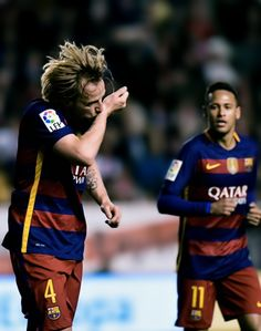 Rakitic and Neymar
