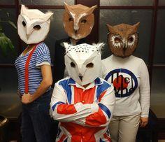 Owl Mask - Wintercroft