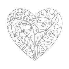 Készítsétek el Ti is Káposztás Judit madárkás papírmetszetét! Amire szükséged lesz hozzá: - fotókarton vagy akvarell papír, amire kinyomtatod a... 8 Martie, Spring Crafts, Paper Cutting, Painted Furniture, Origami, Folk, Mandala, Valentines, Birds
