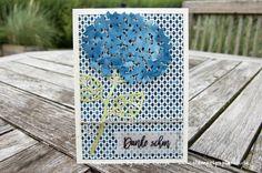 Danke schön - Karte - Wald der Worte - Thoughtful Branches - Thinlits Blatt und Blüte / Beautiful Branches - Stampin' Up!
